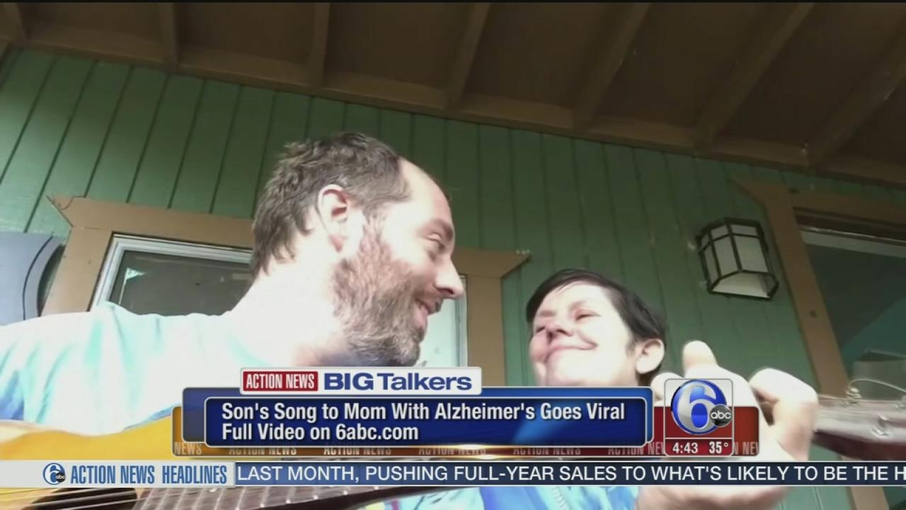 VIDEO: Sons song to mom with Alzheimers goes viral