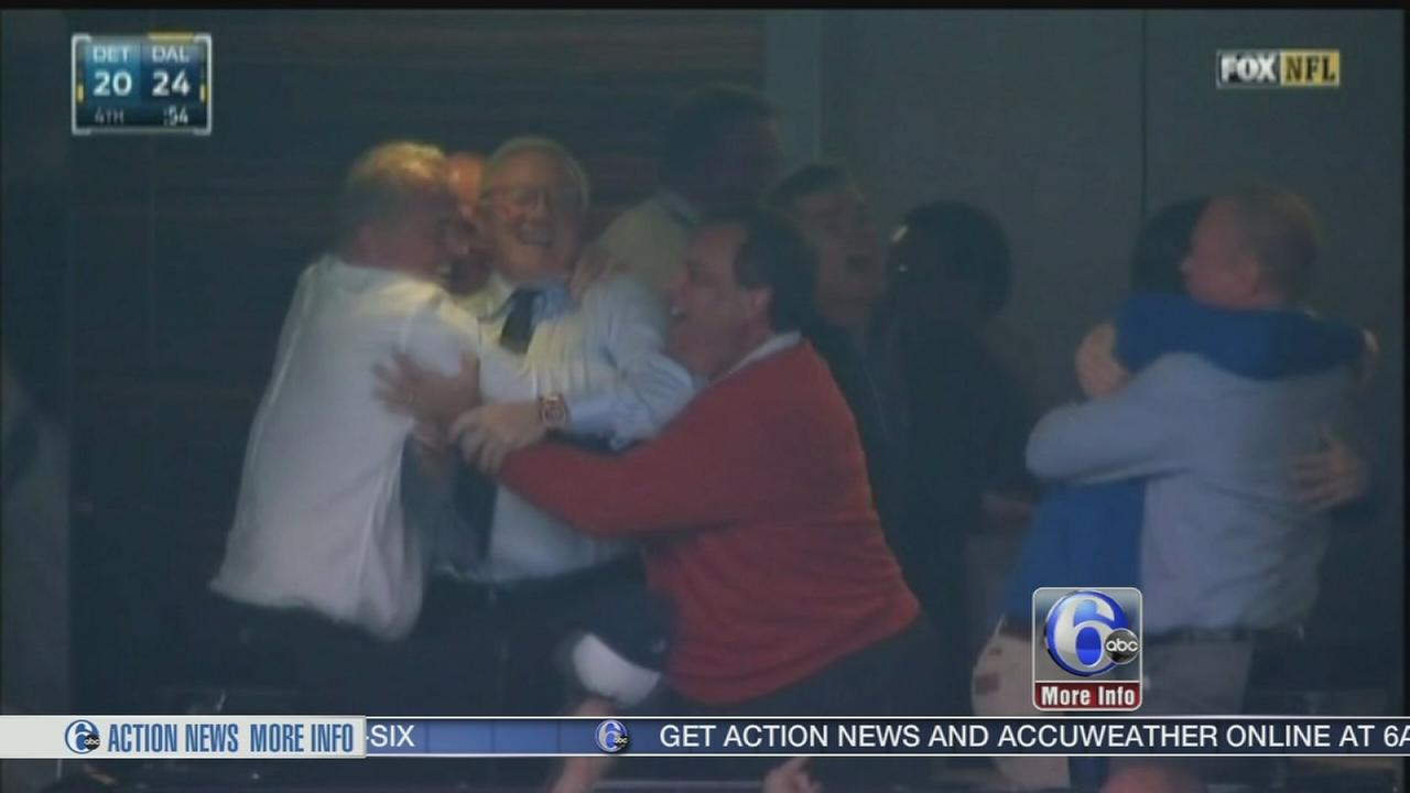 VIDEO: Christie Cowboys controversy