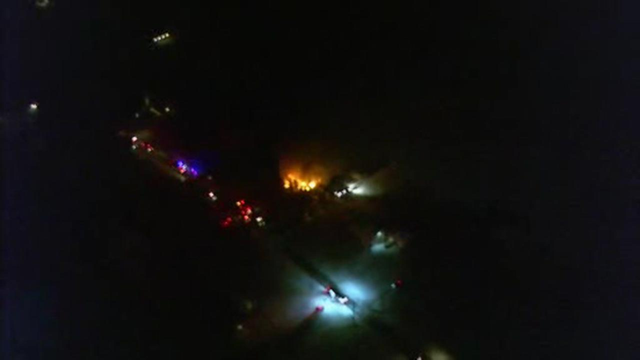 Fire breaks out at home in Chalfont, Bucks County