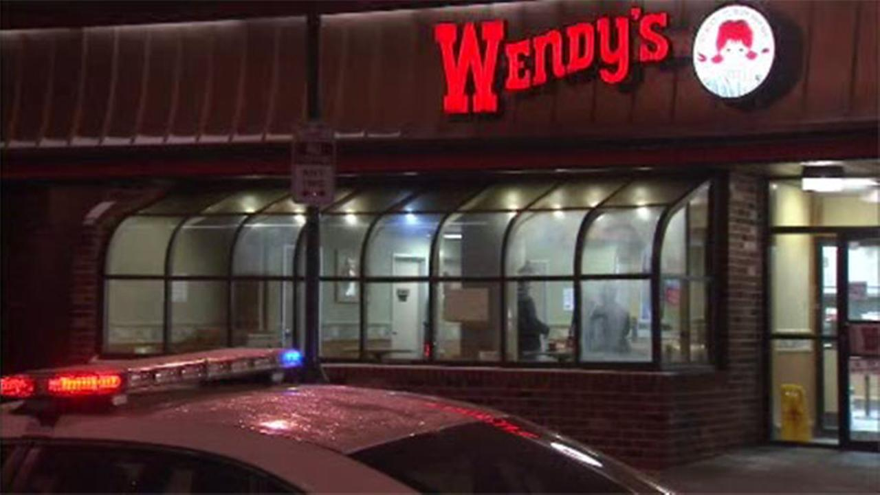 Man stabbed, robbed at Wendy's in Center City