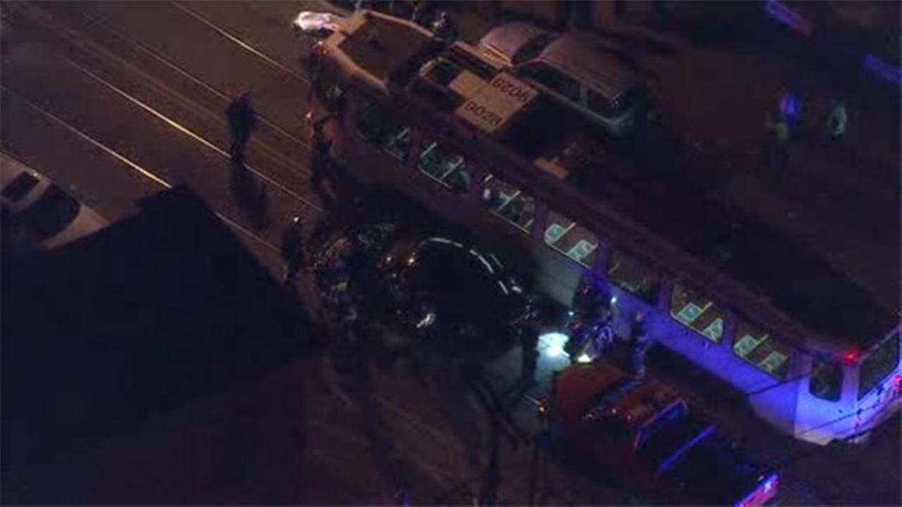 Man struck by SEPTA trolley in Mantua