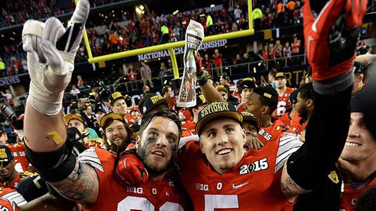 Ohio State wins championship 42-20 over Oregon
