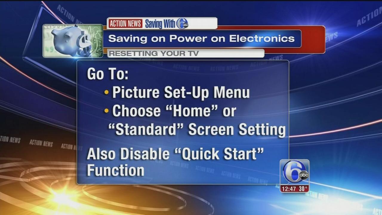 VIDEO - Saving on energy for electronics