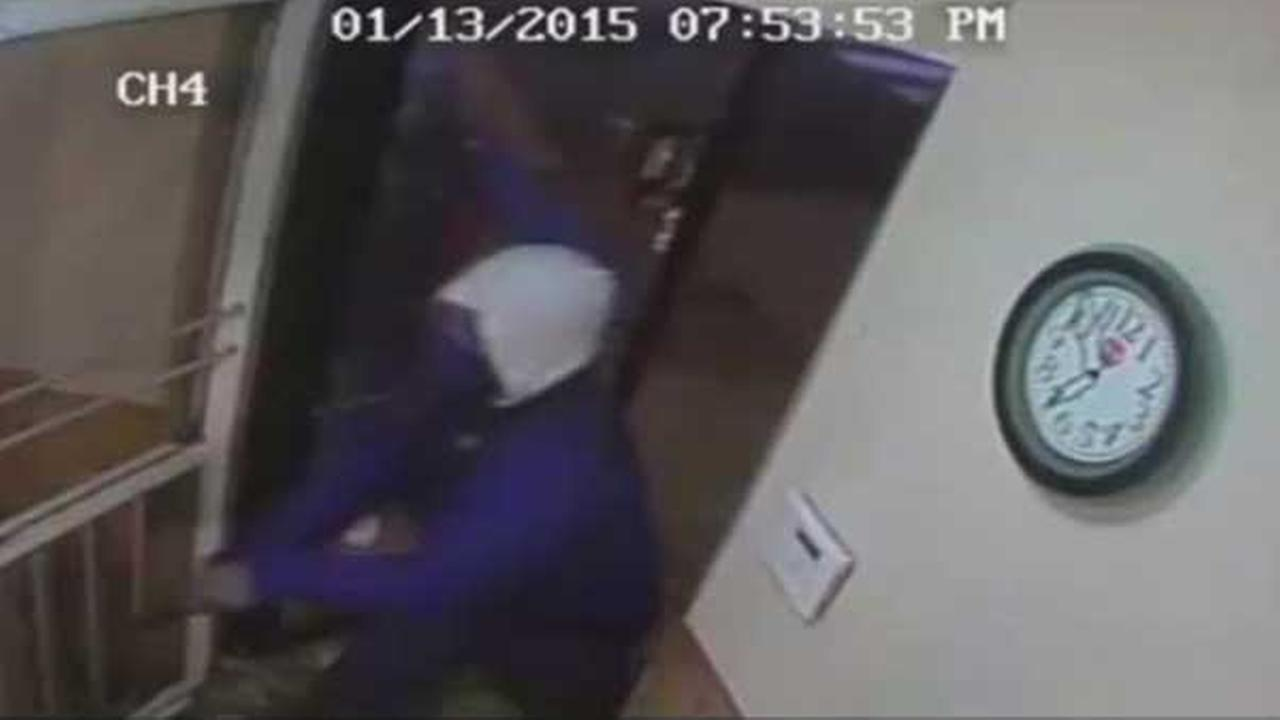 Philadelphia police are searching for two suspects wanted in connection with an armed robbery inside a pizza shop in the citys Juniata Park section Tuesday night.