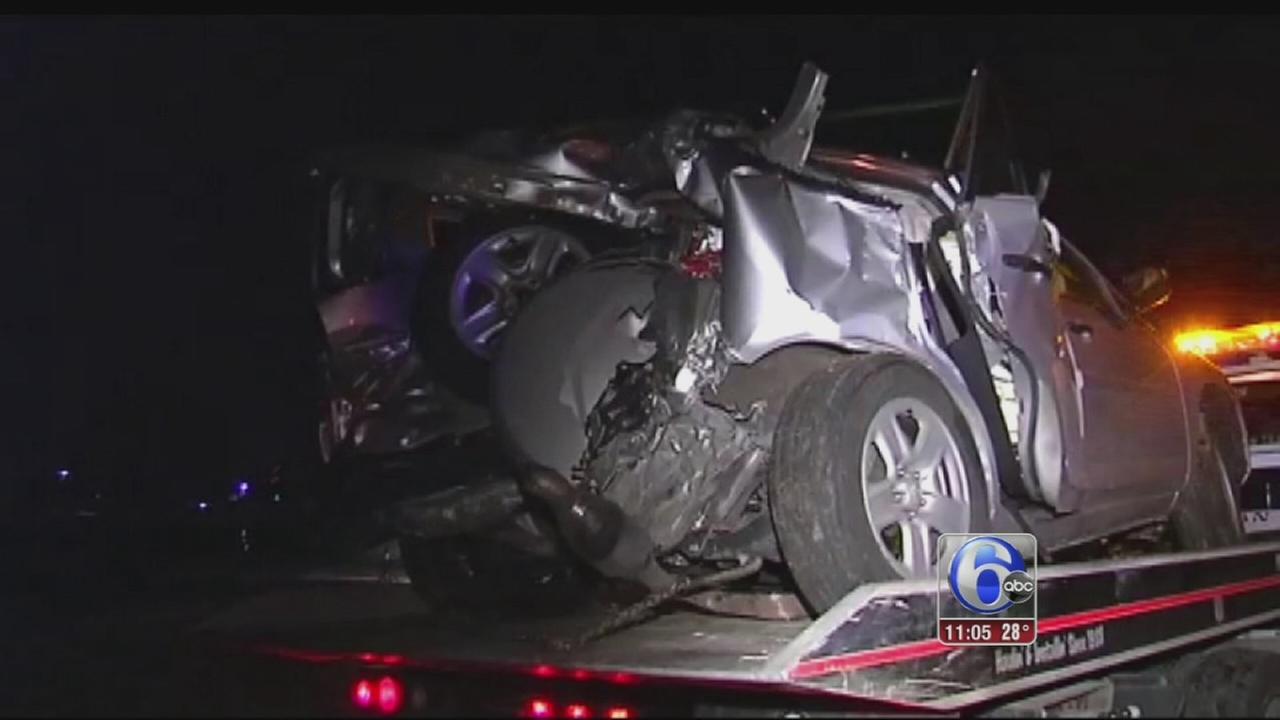 VIDEO: Woman dead after train hits SUV in Lehigh Co.