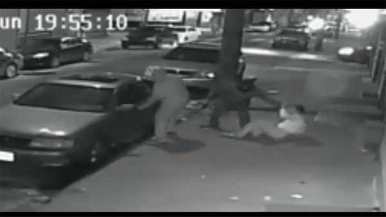Police are searching for several suspects who attempted to abduct a man during a robbery in South Philadelphia.