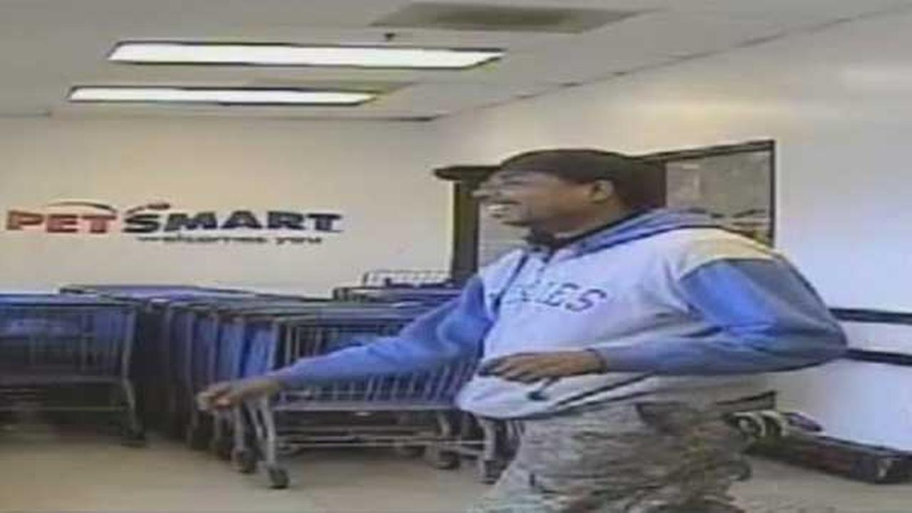 Police are searching for a suspect who attempted to rob a pet store in Northeast Philadelphia.