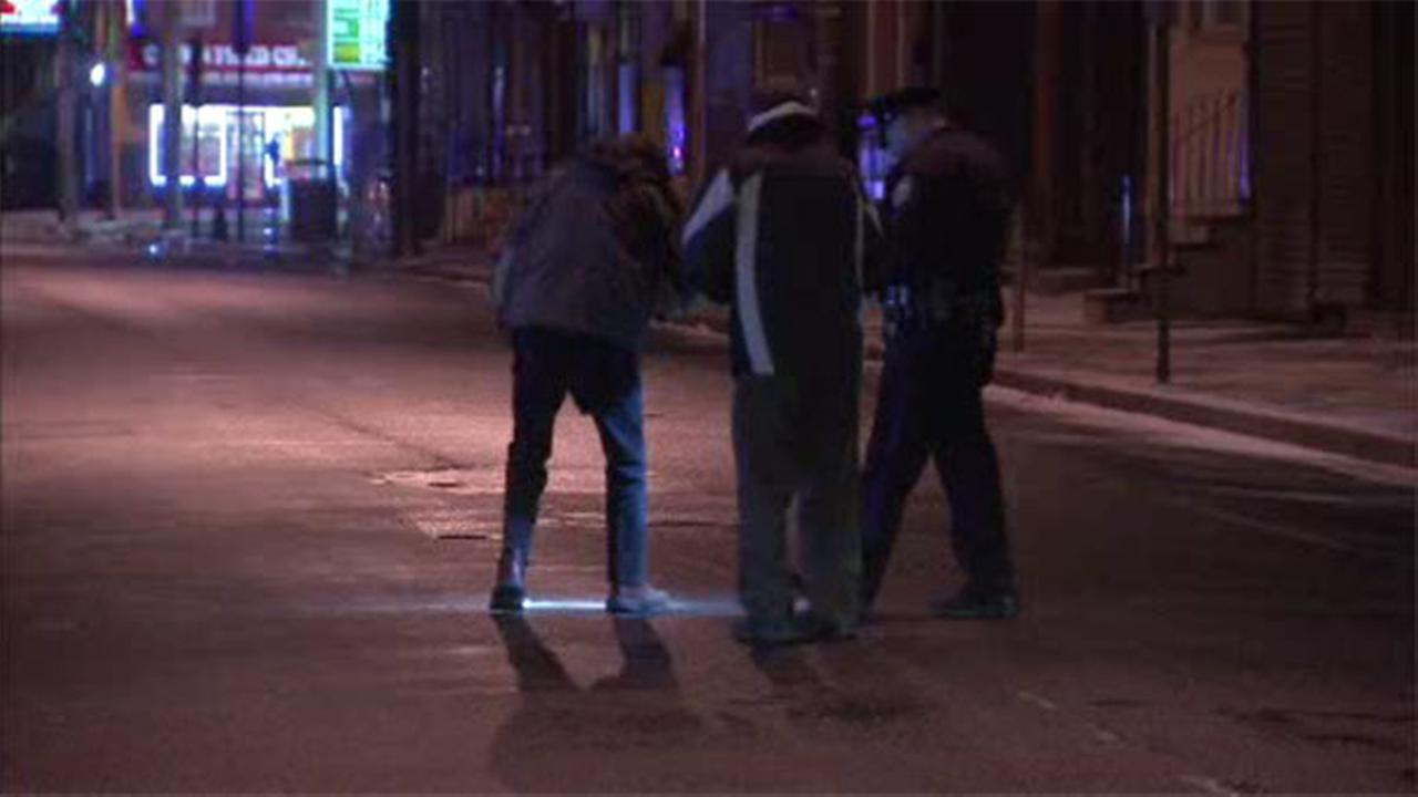 2 men shot inside a car in North Philadelphia