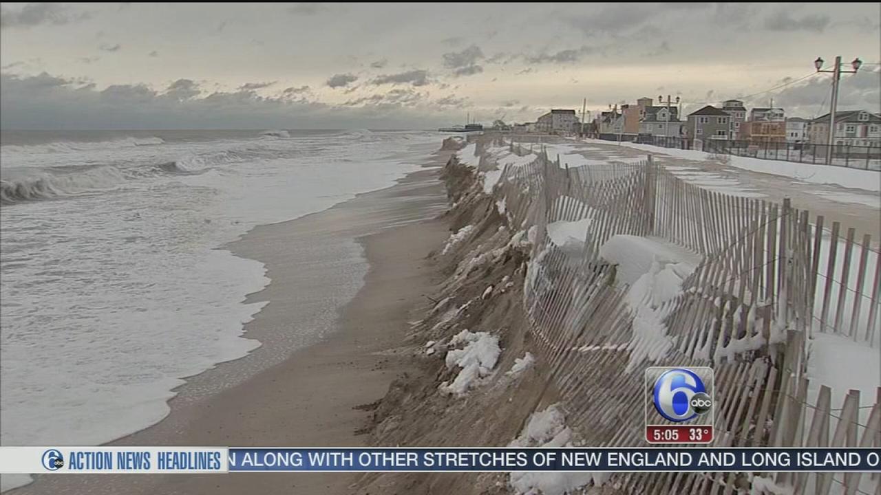 VIDEO: Jersey Shore dodges a bullet