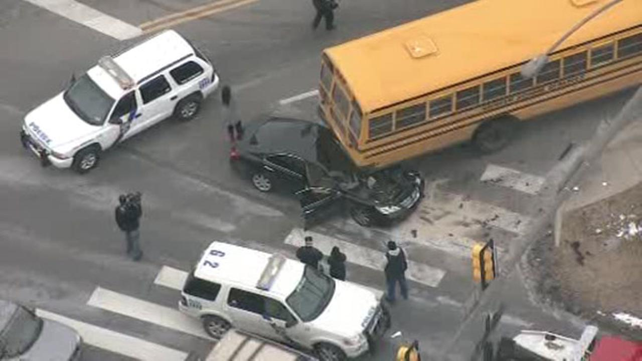 School bus involved in Logan accident