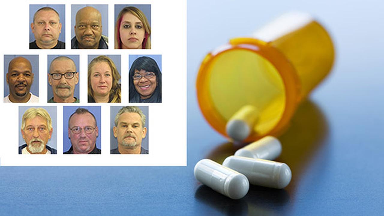 More arrests in central Pennsylvania drug case