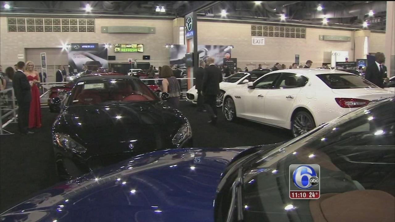 Philadelphia Auto Show Gets In Gear With Black Tie Tailgate Abccom - When is the philadelphia car show