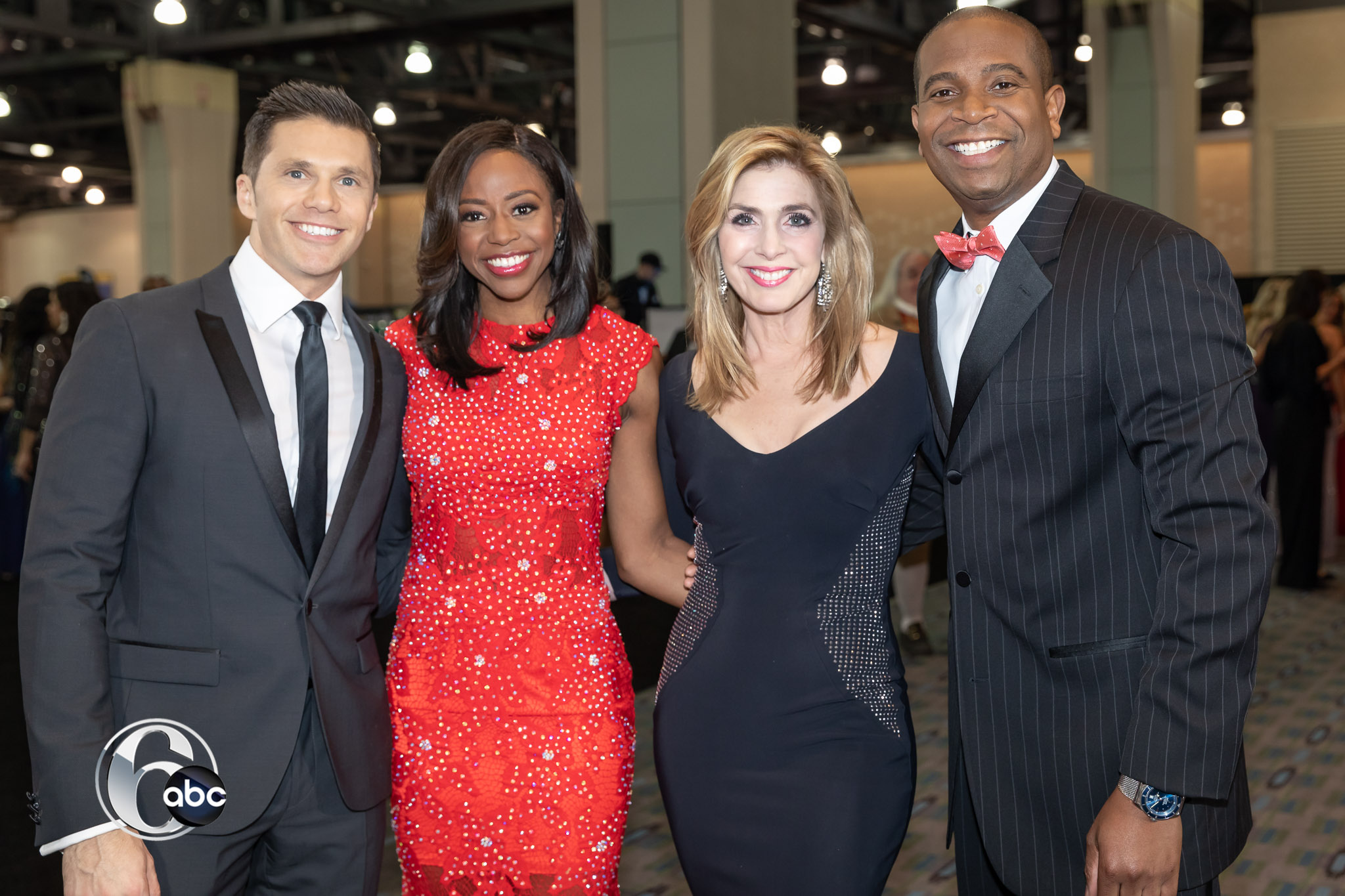 Behind the scenes at the Black Tie Tailgate as the 6abc team prepares this years Auto Show Preview