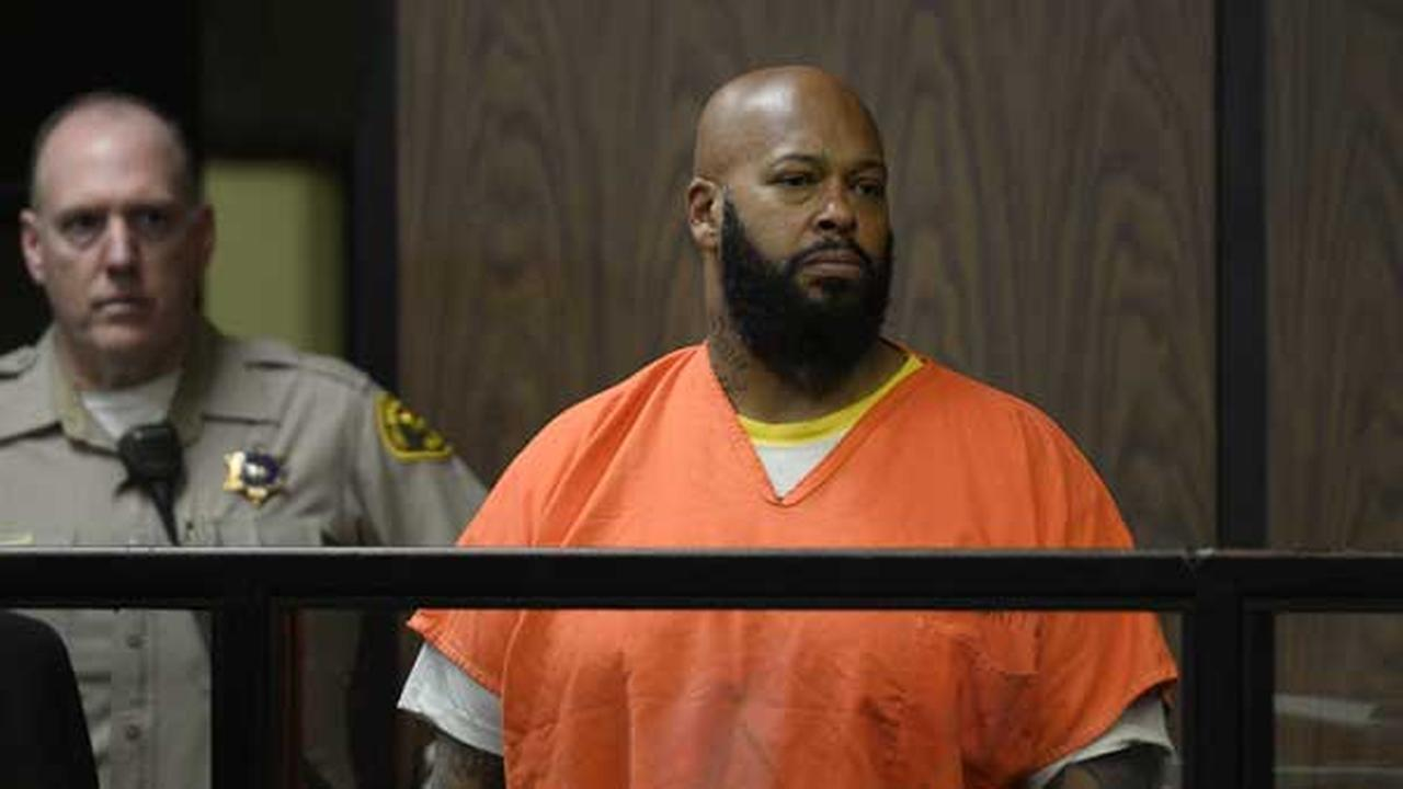 Marion Suge Knight appears in court during his arraignment , Tuesday, Feb. 3, 2015 in Compton, Calif.