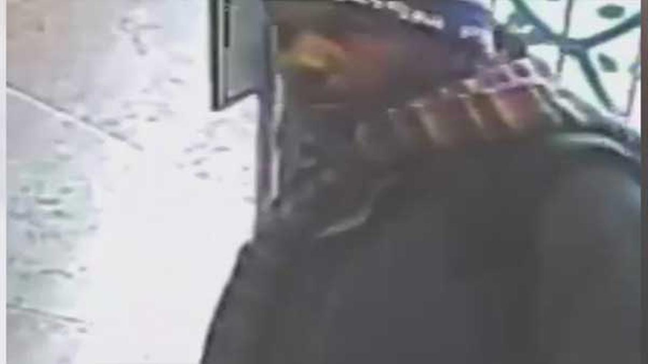 Police are searching for a burglar who tried to steal packages from the foyer of a home in South Philadelphia.