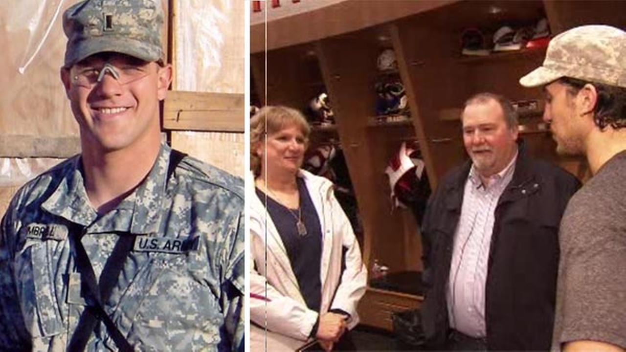 VIDEO: Flyers honor fallen soldier after every win