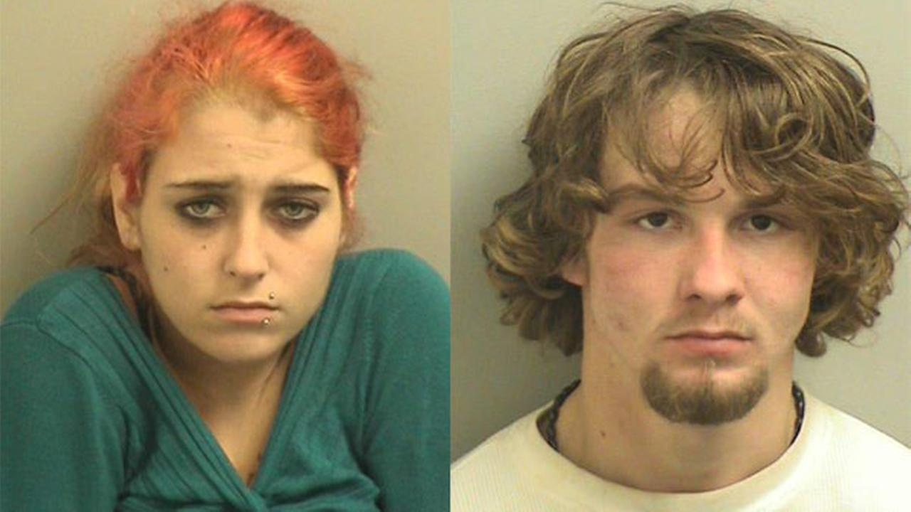 Suspects Marissa Huschak and Cody Diaz