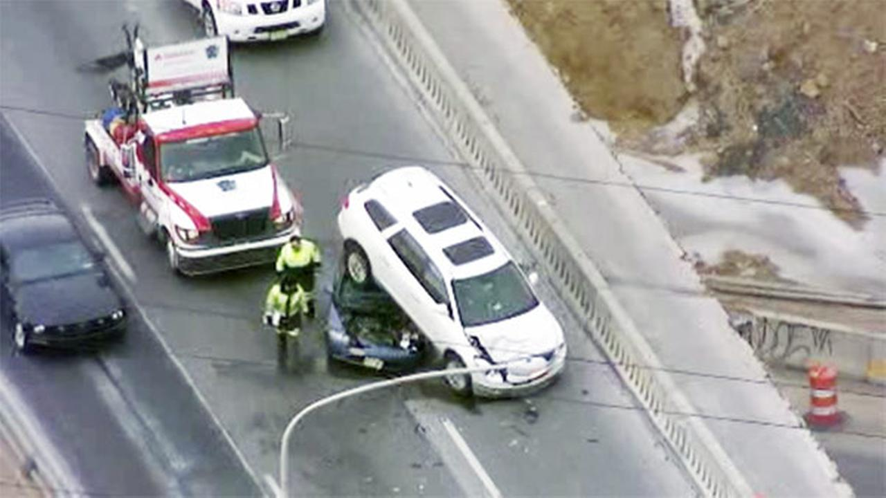 Crash on Interstate 95 in Northeast Philadelphia