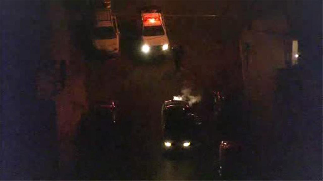 Bullet strikes car and injures man in Burlington City