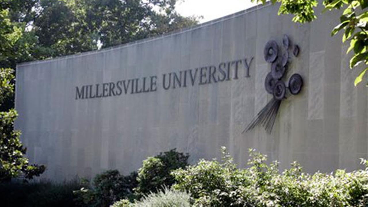 A Millersville University sign is seen on campus in Millersville, Pa., Tuesday, Sept. 18, 2007.