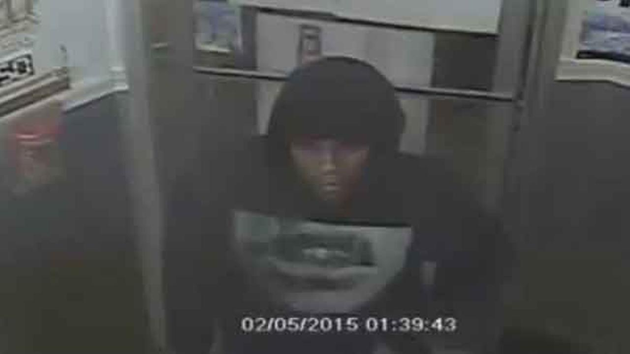 Police are looking to find a suspect who robbed a man outside a cafe in the citys Kensington section early Thursday morning.