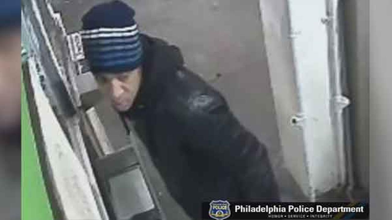 Philadelphia police are searching for a suspect who robbed a man at gunpoint in the citys Cobbs Creek section.