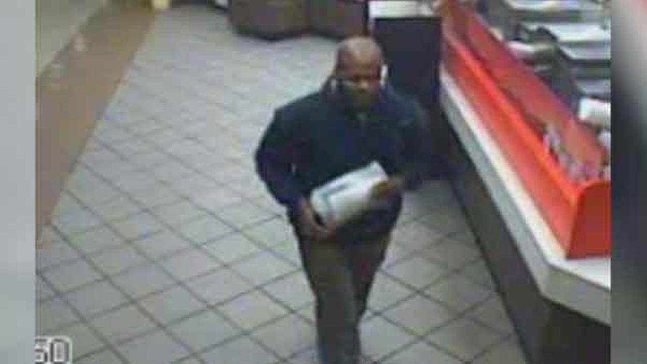 Philadelphia police are looking for a robber who targeted a Dunkin Donuts in Center City early Thursday morning.