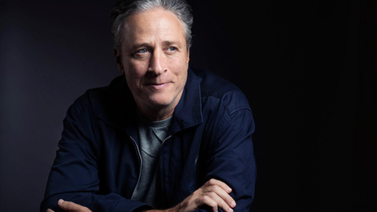 In this Nov. 7, 2014 photo, Jon Stewart poses for a portrait in promotion of his film,Rosewater, in New York.