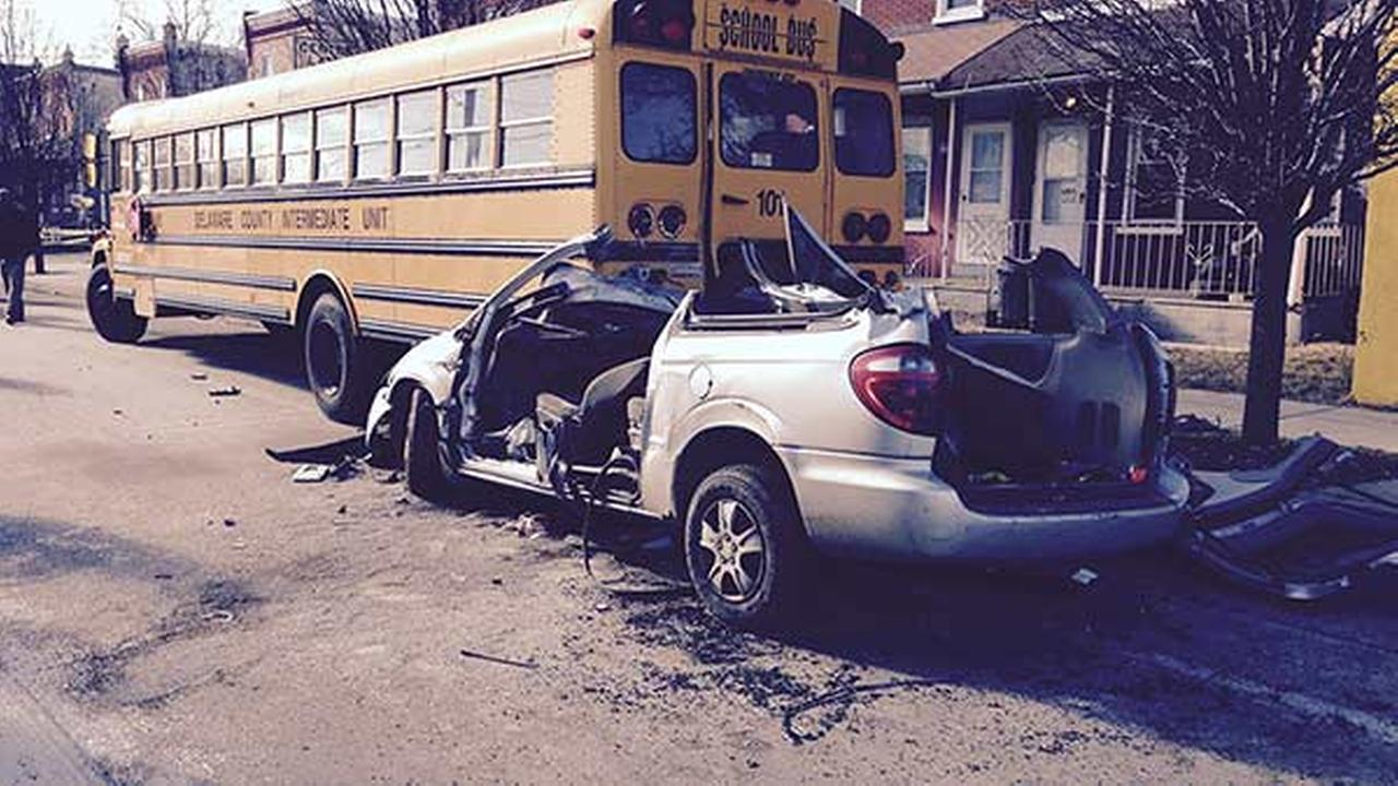 School bus crash in Chester