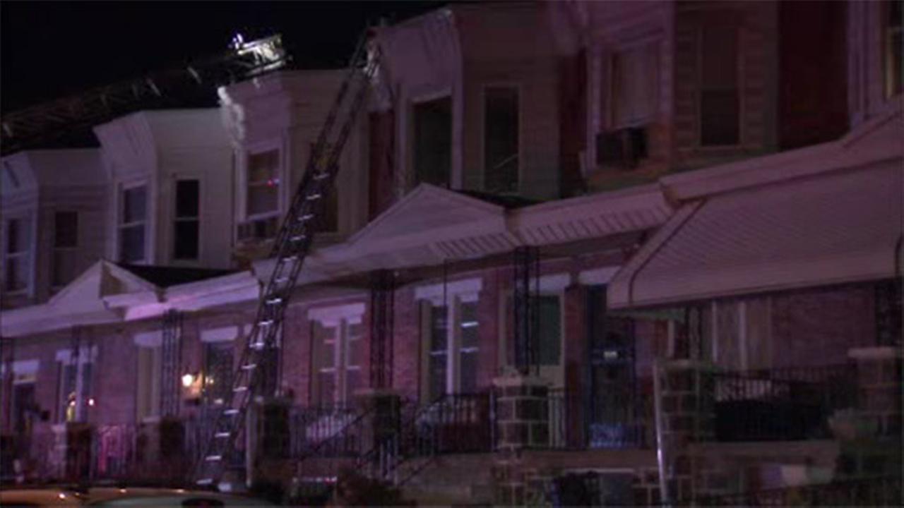 Man suffers serious burns in W. Phila. rowhome fire