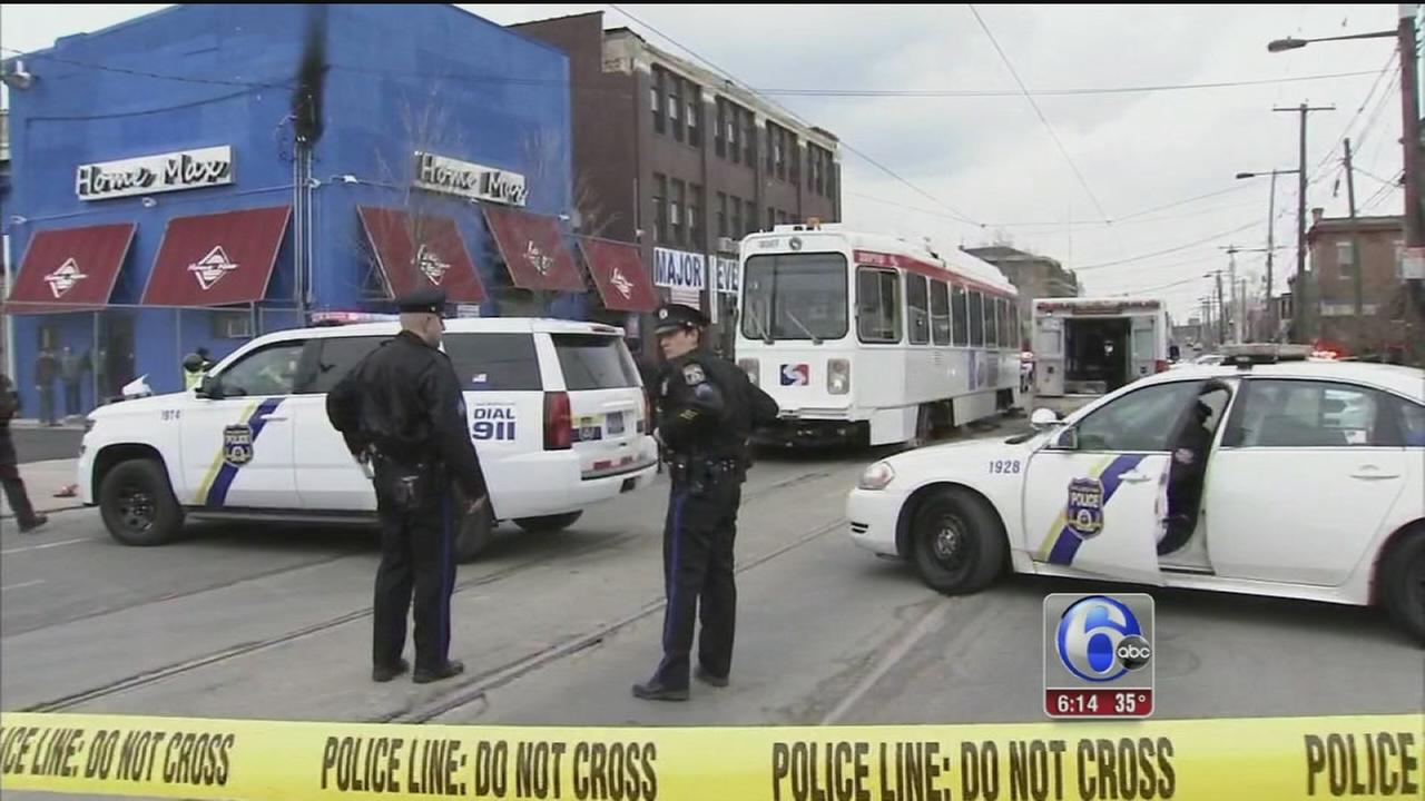 VIDEO: 2-year-old child struck, killed by trolley in W. Phila.