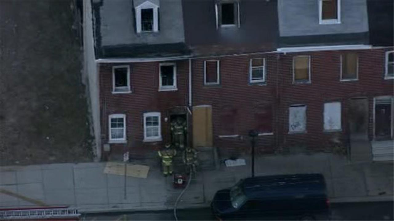Flames damage house in Chester