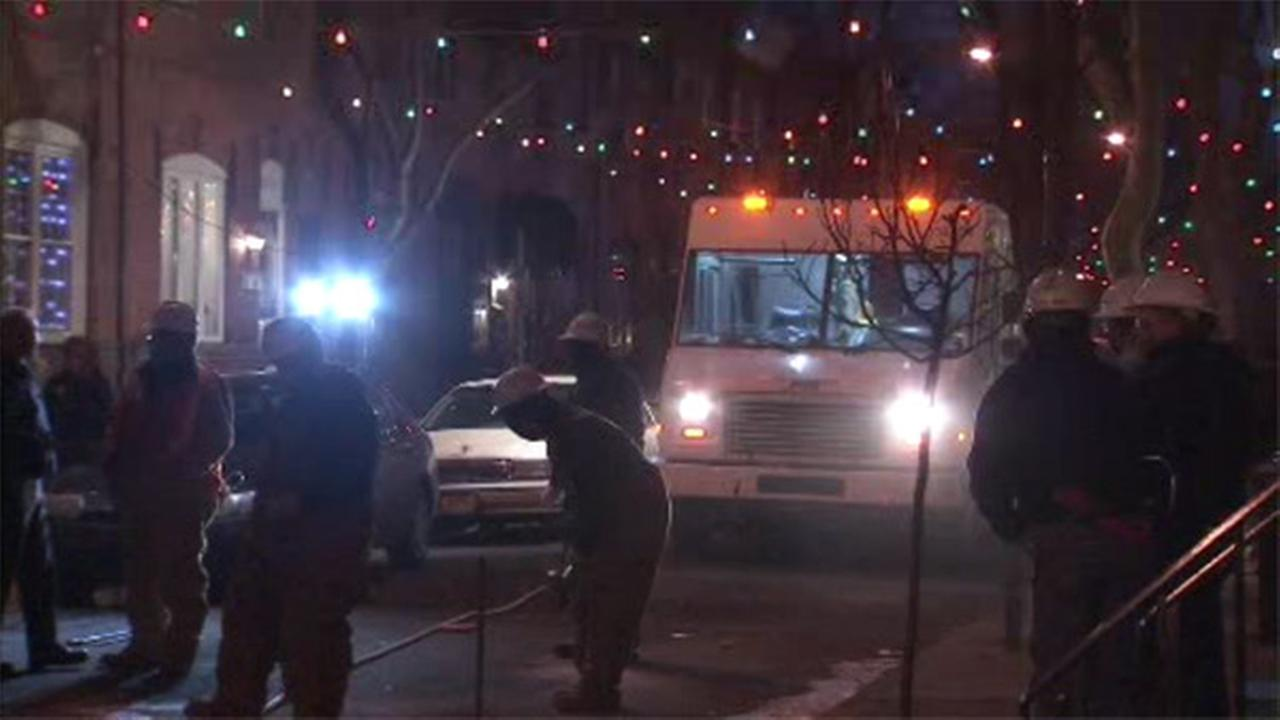 Water main break temporarily shuts off service in South Philadelphia