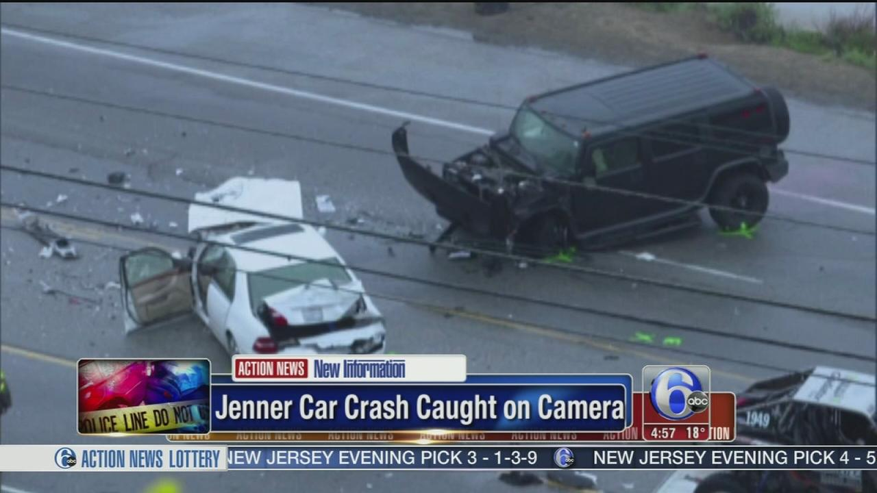 Jenner car crash caught on camera | 6abc.com
