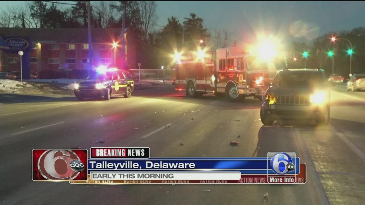VIDEO: Woman, 60, struck by SUV in Talleyville, Del.