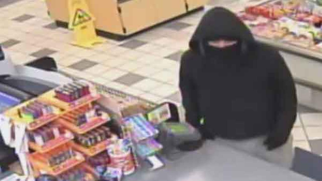 Philadelphia police are looking for a masked man who robbed a gas station in the citys Somerton section.