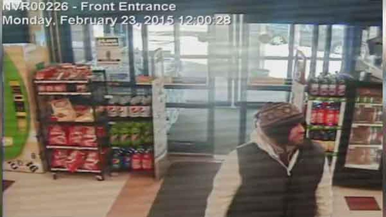 Philadelphia police are looking for a man who robbed a Rite Aid Pharmacy in the citys Kensington section.