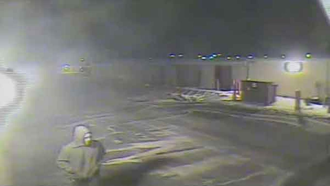 Philadelphia police are searching for a man who burglarized a storage facility in the citys Port Richmond section.