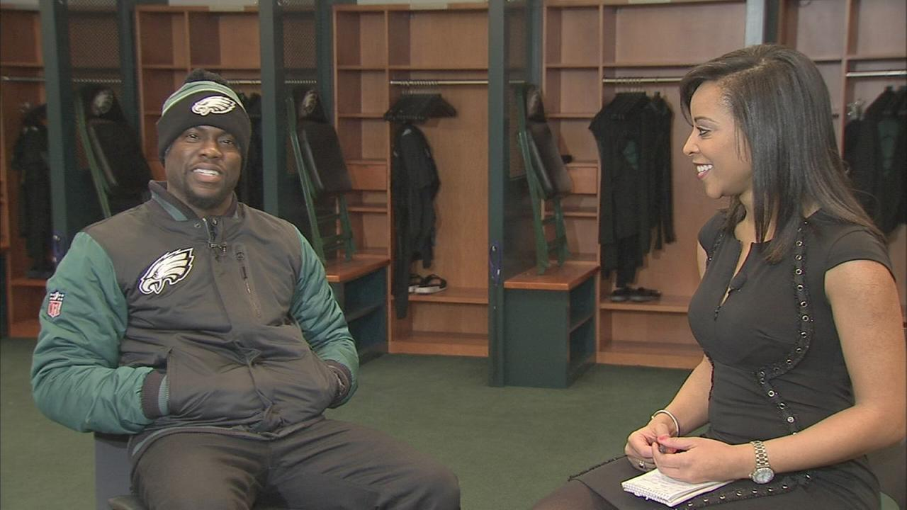 VIDEO: Kevin Hart analyzes the Eagles
