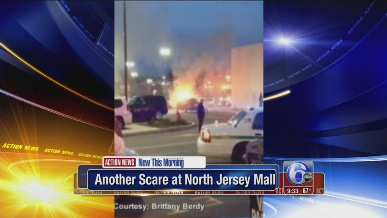 Police: Car fire may have led to scare at NJ mall