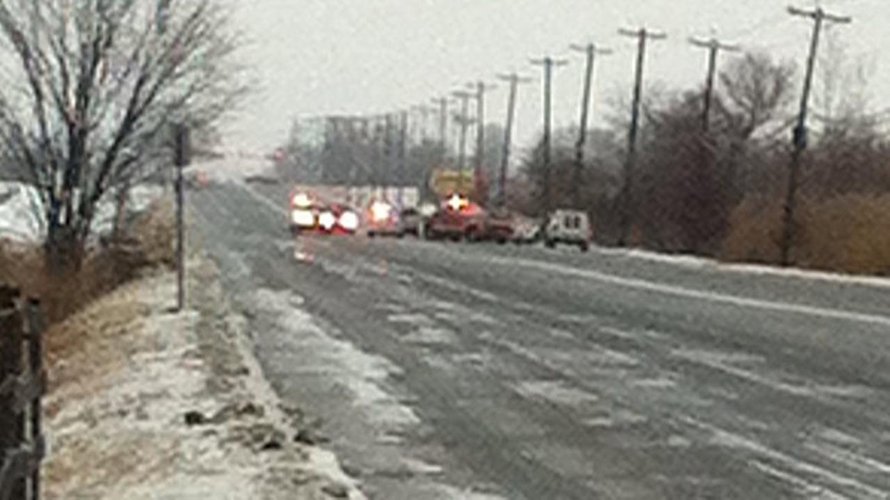8 people injured in Burlington Co. crash