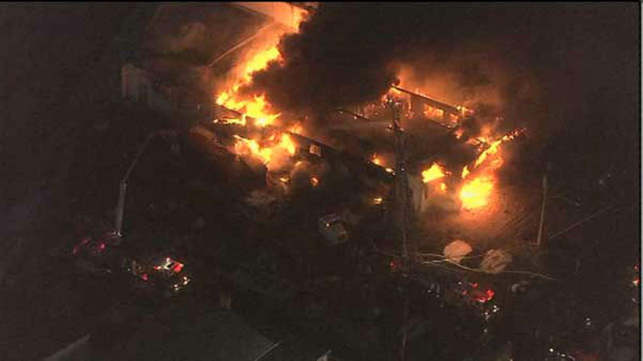 PHOTOS: Steel plant fire in Upper Moreland