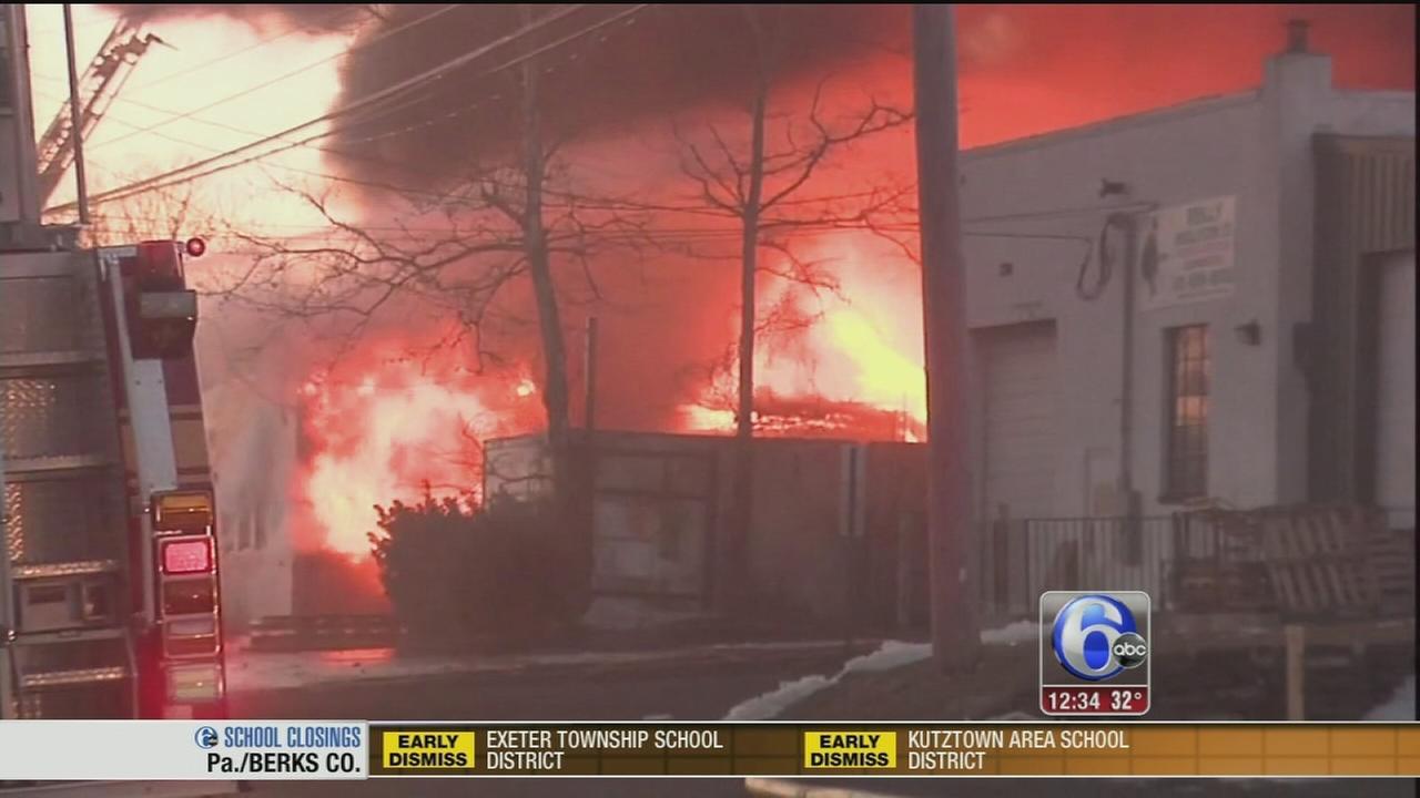 VIDEO: Investigation underway into metal plant fire