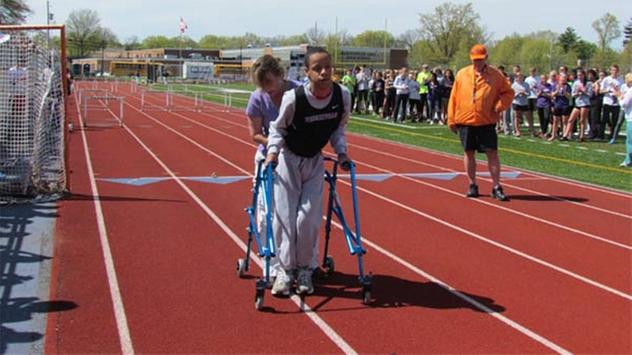 Phoenixville teen with cerebral palsy makes history