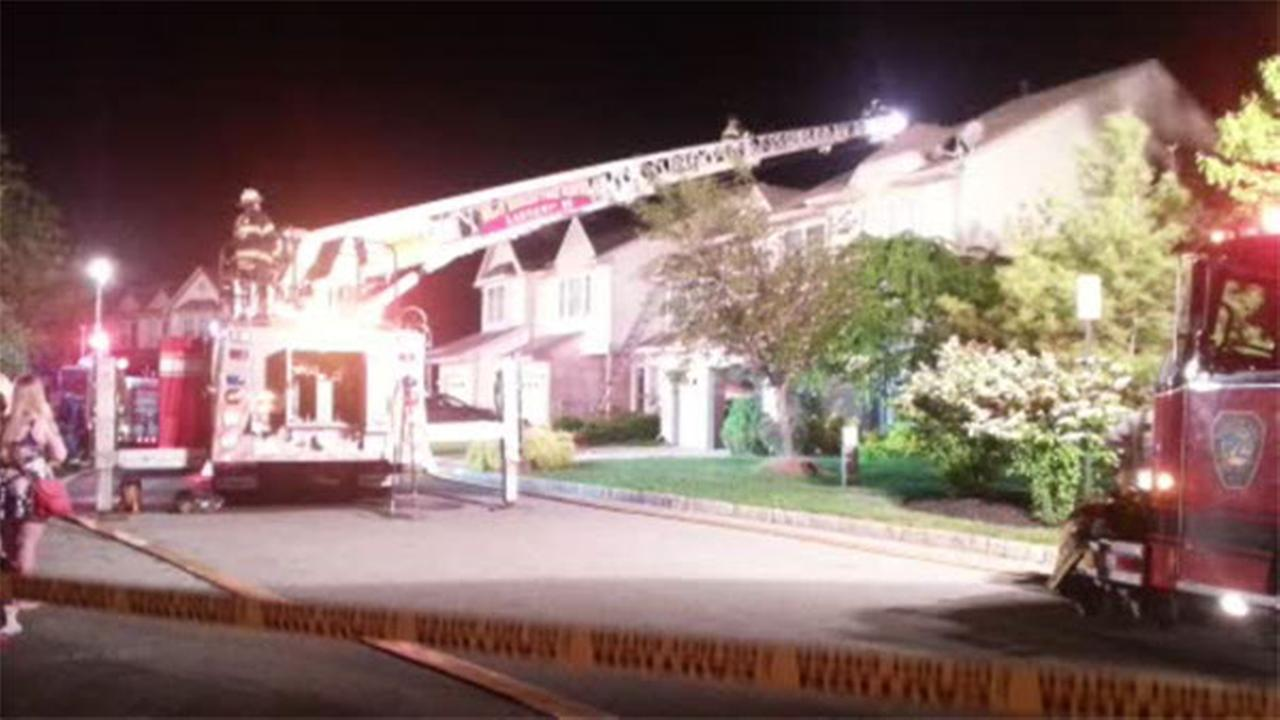 2 townhouses damaged in Camden County blaze