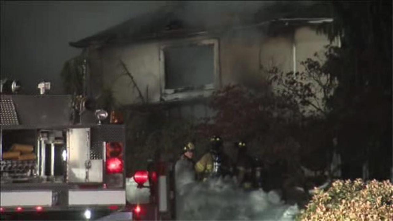 Blaze damages house in Montco