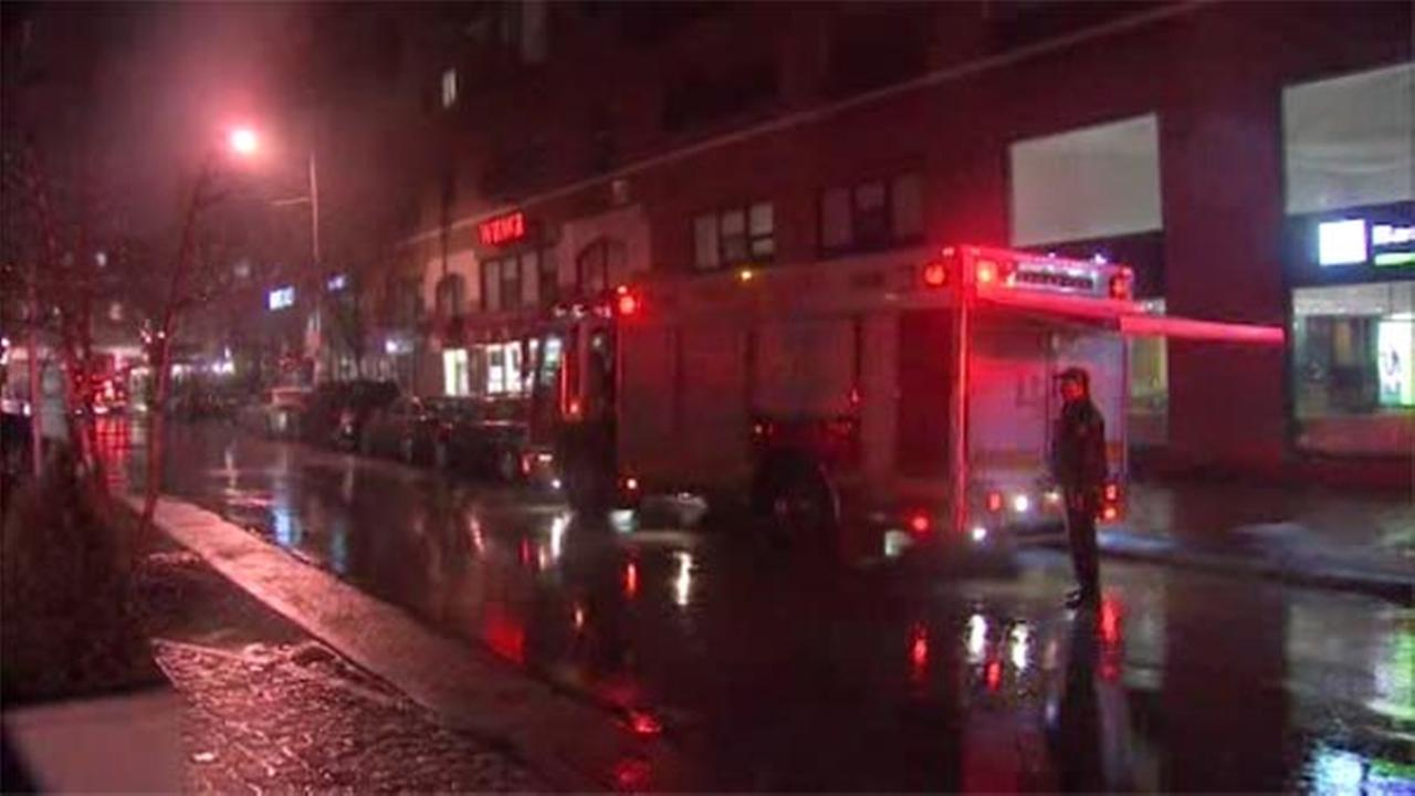 Fire forces out high-rise residents in Washington Square