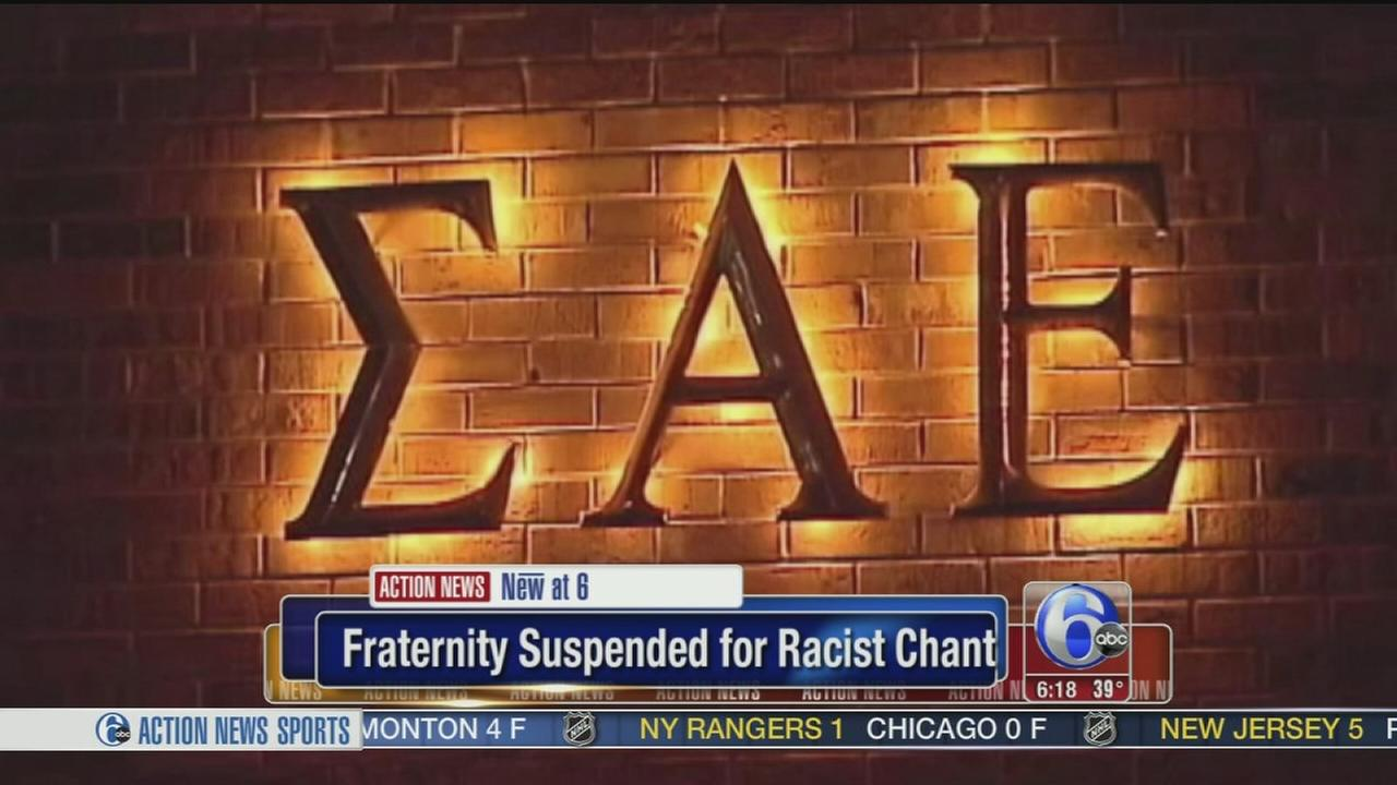VIDEO: University frat to close over racist video