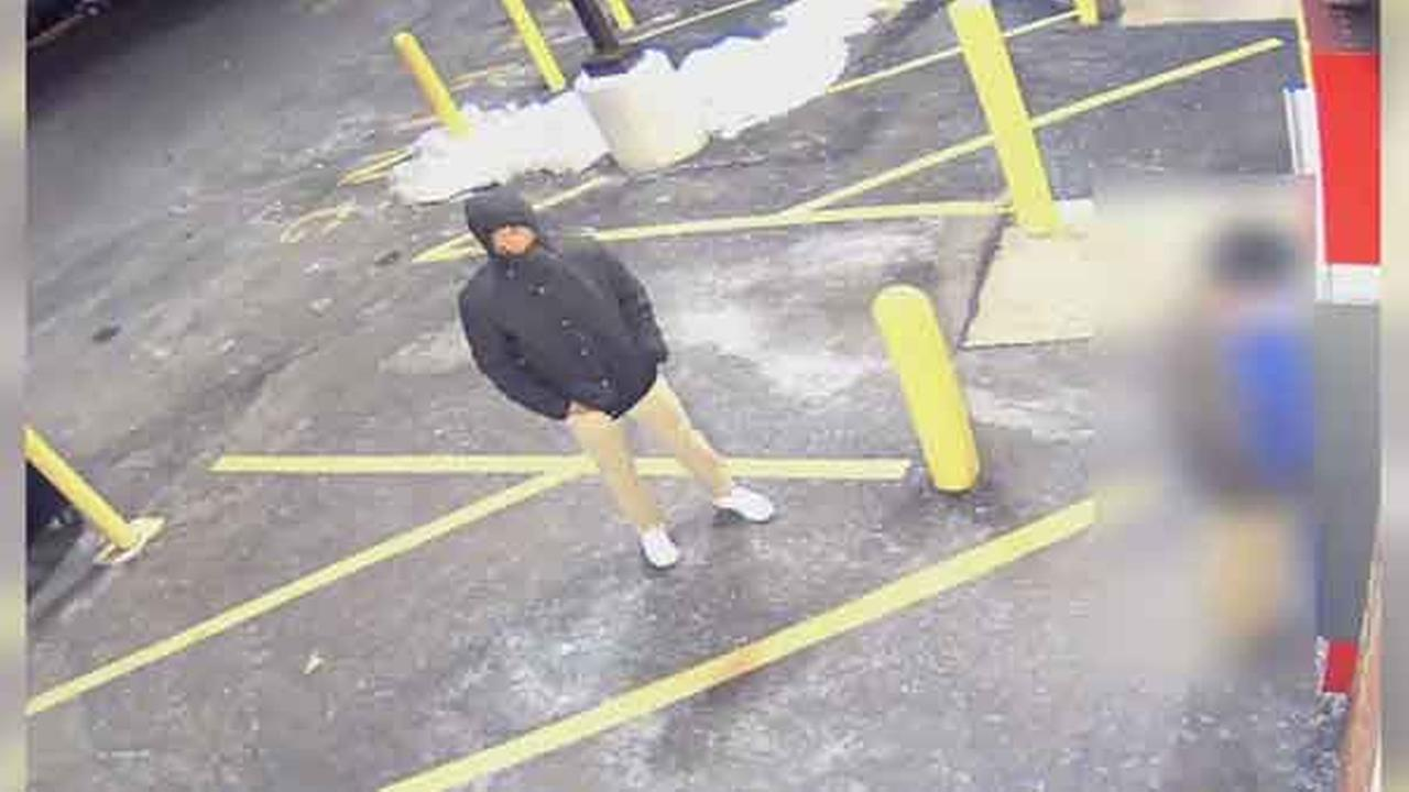 Philadelphia police are looking for a teenager who robbed a man at gunpoint at an ATM machine in the citys Lawndale section.