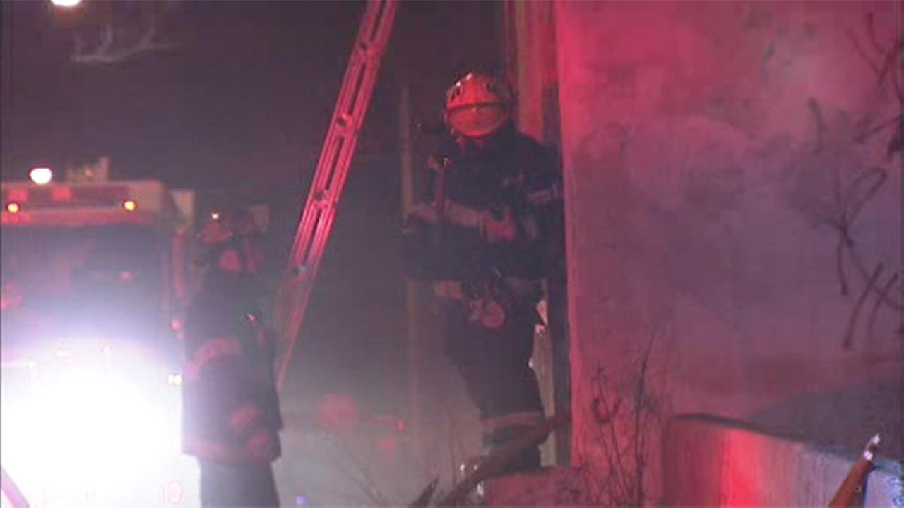 Blaze damages house in Mantua